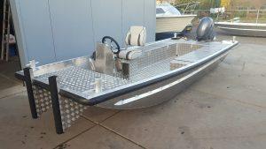 aluminium flat boat